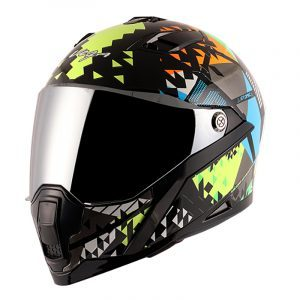 Storm Atomic Black Neon Yellow Helmet