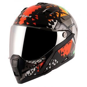 Storm Atomic Black Orange Helmet