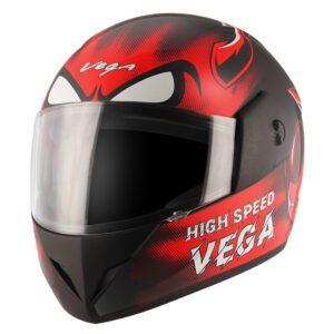 Cliff Devil Black Red Helmet