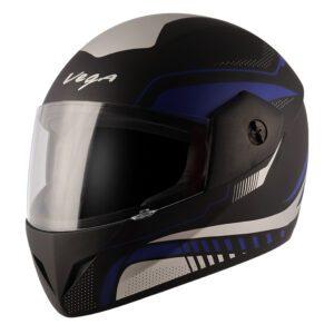 Cliff Styler Dull Black Blue Helmet