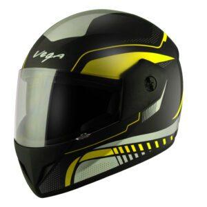 Cliff Styler Black Neon Yellow Helmet