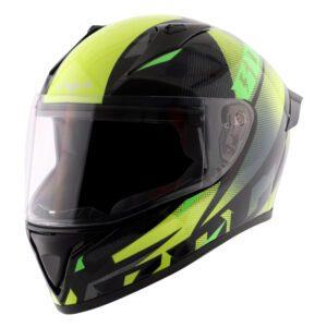 Bolt Macho Black Neon Yellow Helmet