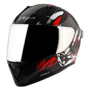 Bolt Bunny Black Red Helmet