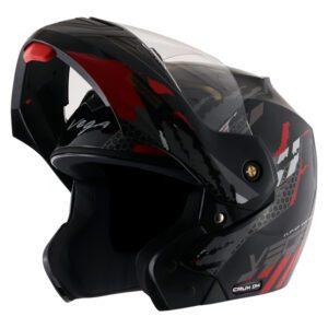 Crux Dx Flex Black Red Helmet